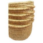 panier fait main en fibre naturelle