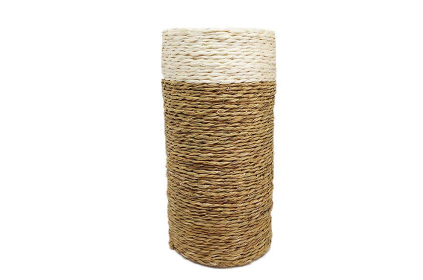 porte-bouteille en fibre naturelle