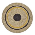 set de table rond collection new terra en fibre naturelle fait main