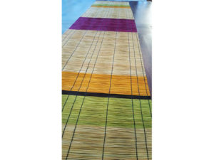 chemin de table fait main en fibre naturelle