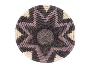 panière faite main en fibre naturelle