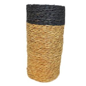 porte bouteille fait main en fibre naturelle