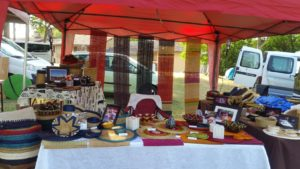 stand marché artisanal